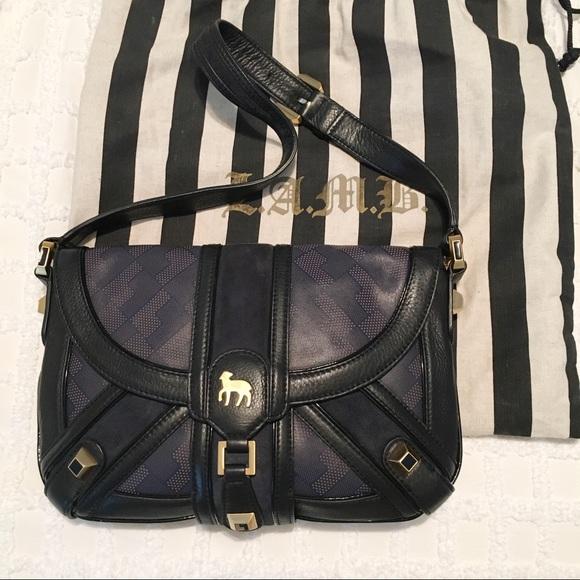 L.A.M.B. Handbags - NWOT Vintage LAMB Aston Lotus Handbag